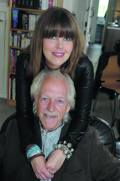 Laura White with her dad Ken, who has given her one of his kidneys after hers failed due to an auto-immune disease