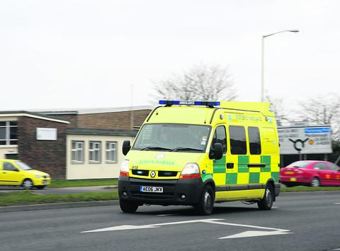 Ambulance staff are being called out to patients with minor ailments