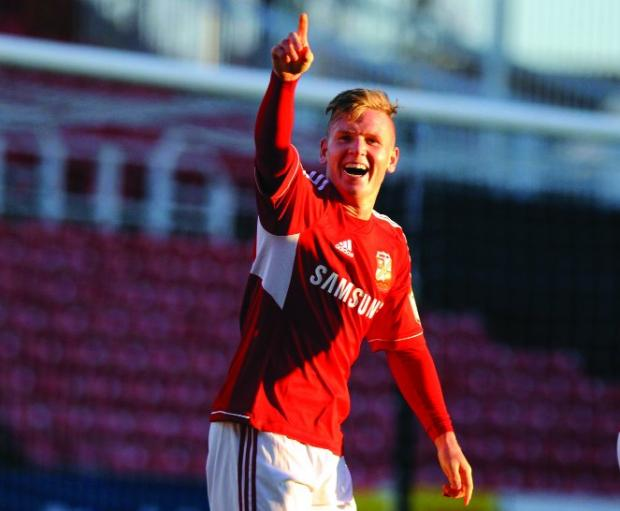 GONE BUT NOT FORGOTTEN Former Swindon winger Matt Ritchie