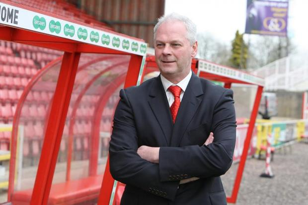 New Town boss Kevin MacDonald