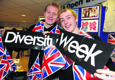 New College students celebrate Diversity Week