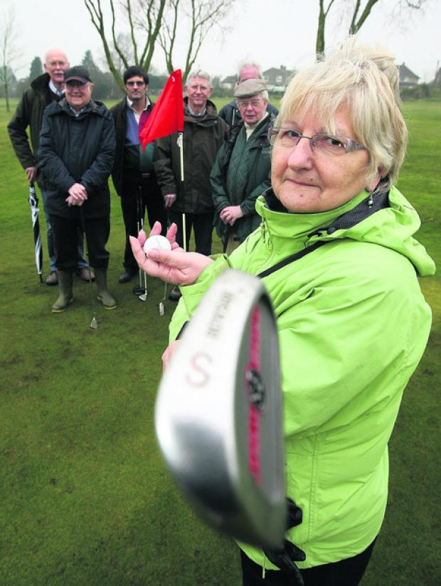 Members of the Highworth Residents Group are worried about the impact a new sporting hub may have on open spaces, particularly the golf club