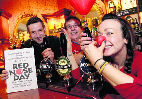 The Goddard Arms is all set for Comic Relief