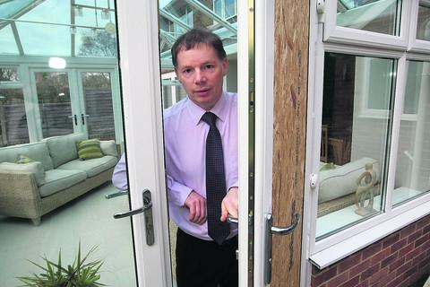 Graham Burgess at his home in Sandringham Road, Swindon