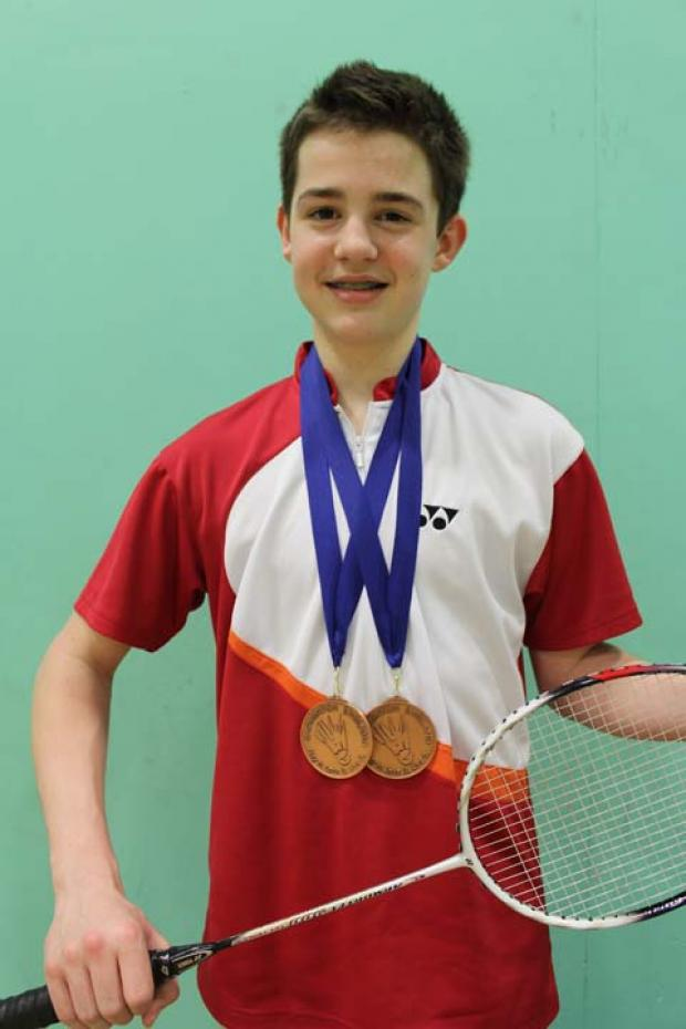 Swindon badminton star Josh Musty