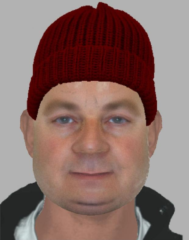 An efit of the suspect