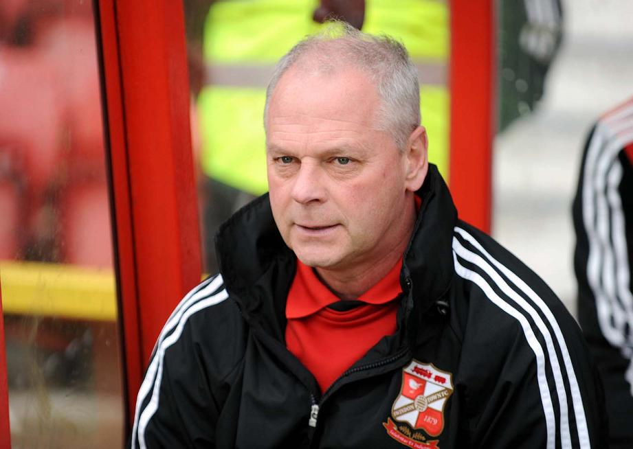 Swindon Town manager Kevin MacDonald
