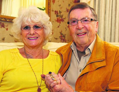 Roy and Monica Dutton who are celebrating their 60th wedding anniversary