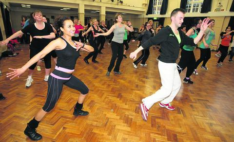 A zumbathon was held at Commonweal school on Saturday afternoon in aid of Prospect Hospice
