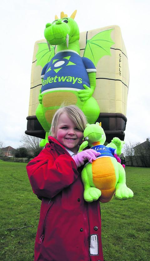 Five-year-old pupil Macy Walton