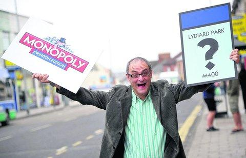 Graham Barnes is excited by the impending Swindon version of Monopoly