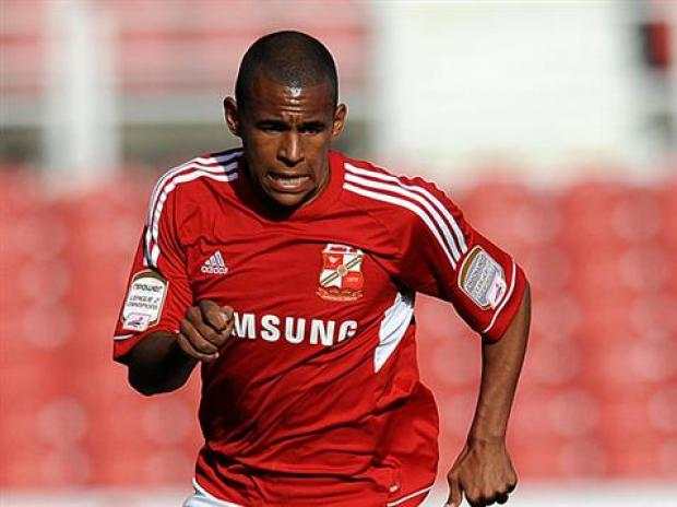 Swindon Advertiser: Star in the making? - Town defender Nathan Thompson