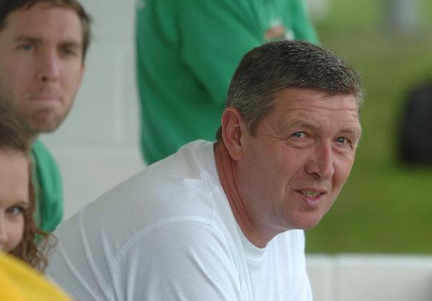Shrivenham manager Dave Turner passed away on Tuesday morning