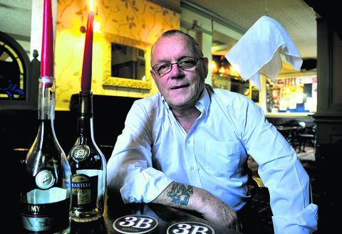 Boundary House manager Dave Howells believes the pub is haunted.