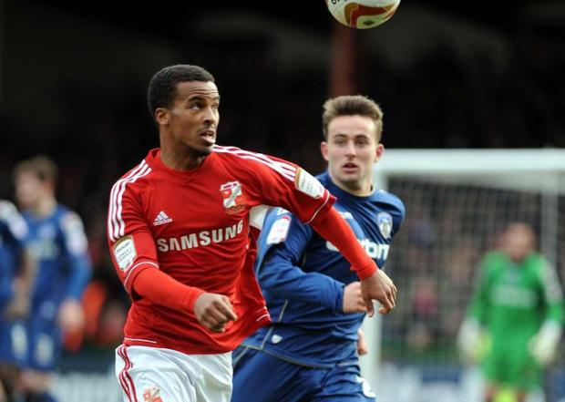 Swindon Town's Nathan Byrne