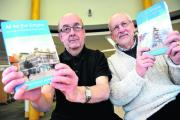 Roger Trayhurn and Mark Child with their new book, All For The Empire
