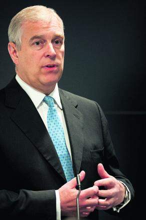 The Duke of York will visit UTC next Monday