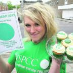 Jessie Dennis, owner of GlamoRose Cakes, is taking part in the NSPCC charity event