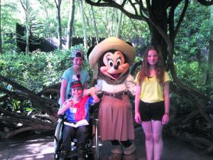 A TRIP to Florida was a dream come true for a teenager who suffers from a life-threatening disorder.