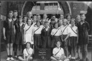 The 1939 picture taken at Westcott Place School, with finalists from Swindon Schools Amateur Athletics