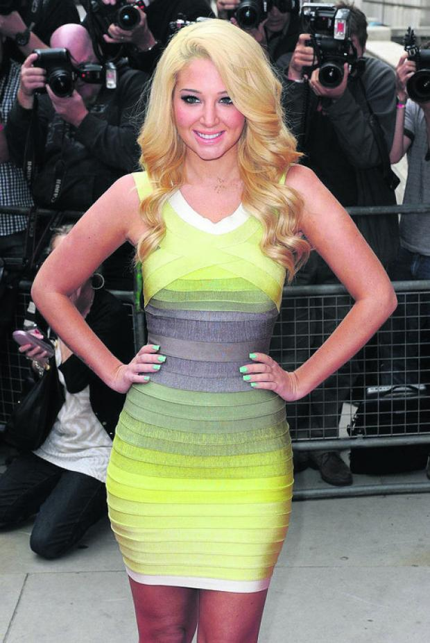 Swindon Advertiser: Tulisa is among the stars set to appear at the County Ground
