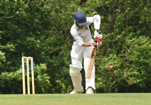 Akki Gomel took four wickets in four balls for Purton against Devizes