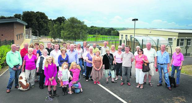 Residents opposed to Croft School
