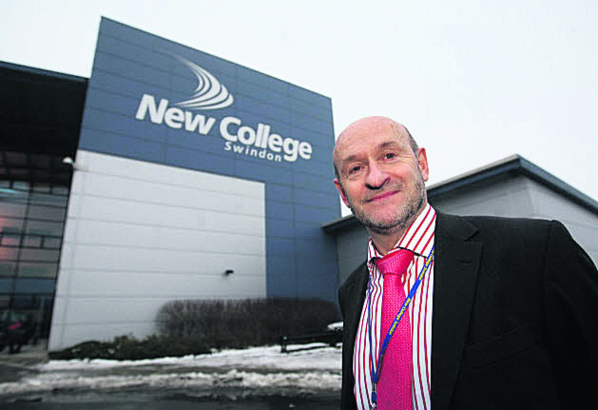 Graham Taylor, principal of New College