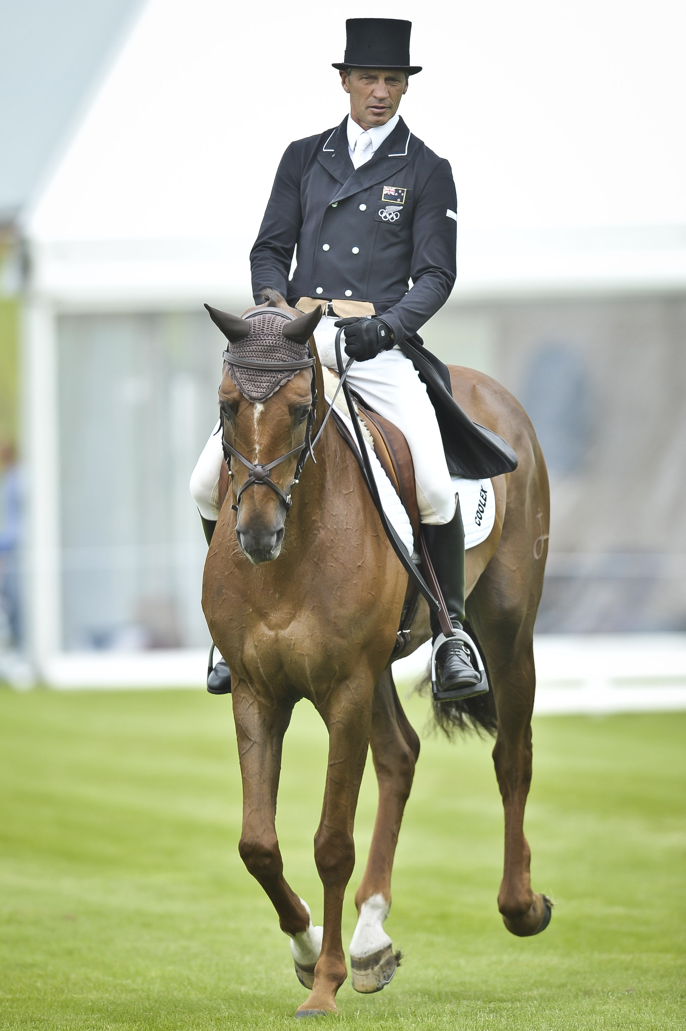 Andrew Nicholson is a favourite at the Barbury International Horse Trials