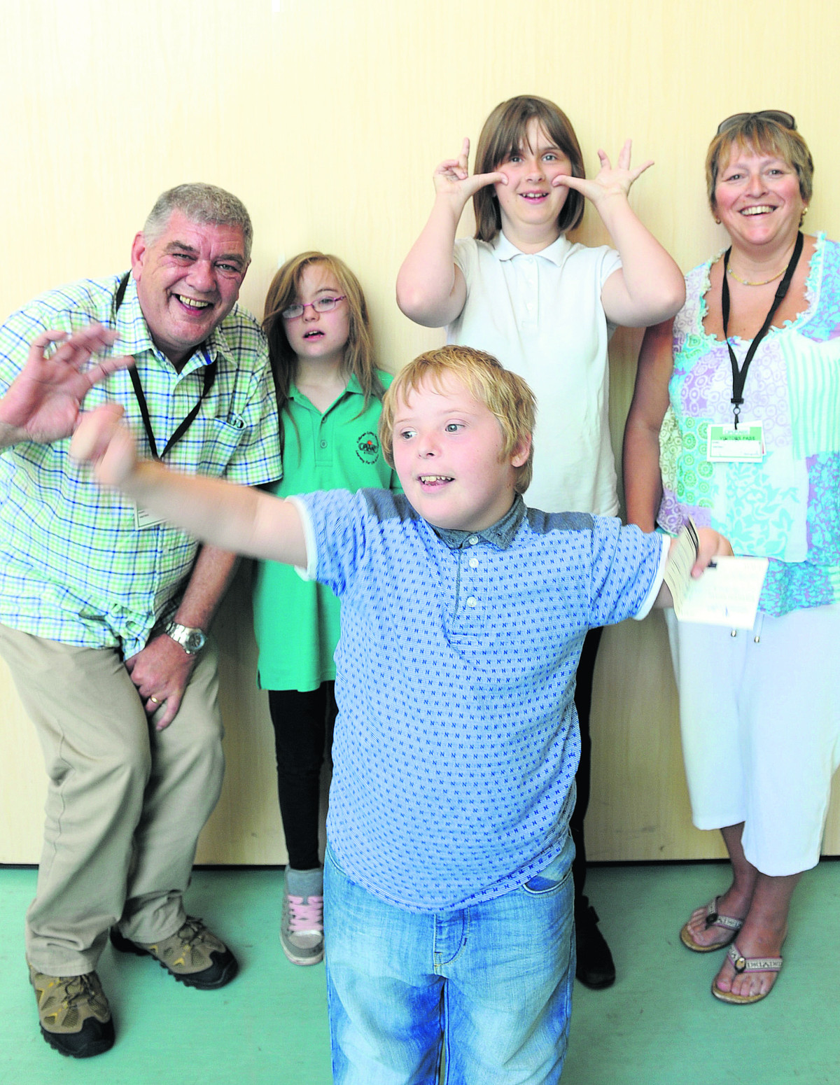 Helping hand for special needs education centre