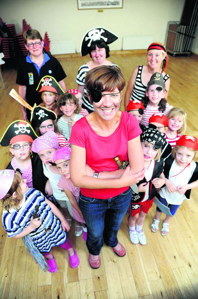 Charlotte Rose is leaving the Cricklade Rainbows after six years
