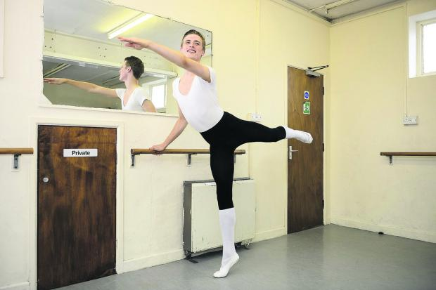 Joey Goodwin from the Judith Hockaday School of Dance and Drama who has won a scholarship to Performers College