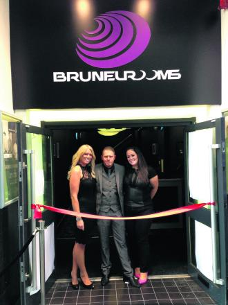 The management of the Brunel Rooms at its re-launch last year