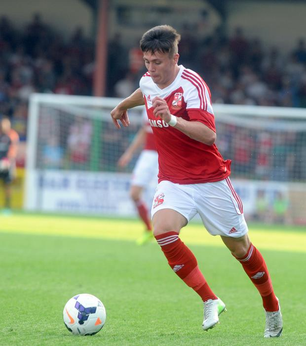 Swindon Advertiser: Swindon's Miles Storey
