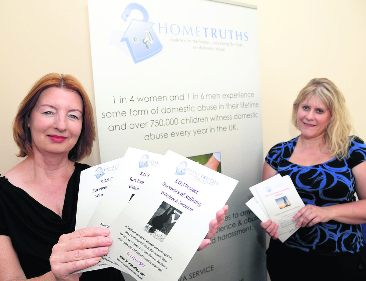 Mary Cosker and Kim Swinden, directors of HomeTruths