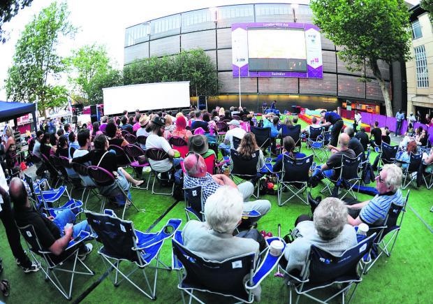 The Big Screen at Wharf Green