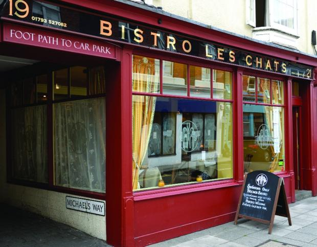 Swindon Advertiser: Bistro Les Chats