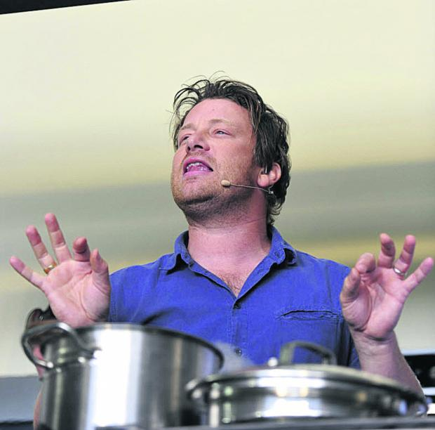 Chef Jamie Oliver, born on this day in 1975