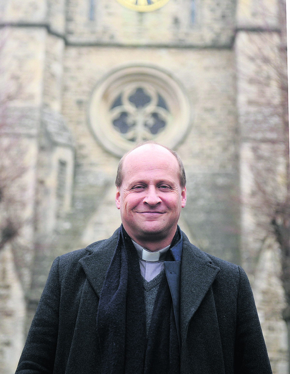 Christchurch Vicar Simon Stevenette wants whoever is elected in Old Town to make the welfare of the elderly a priority