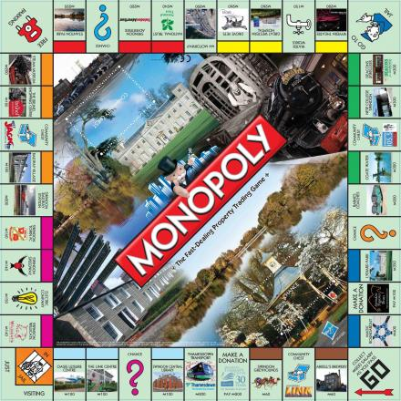 The Swindon edition of Monopoly - named sixth weirdest ever created