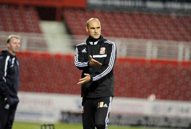Swindon Town assistant coach Luke Williams
