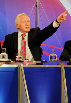 Town stars in BBC Question Time