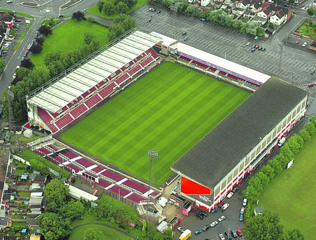 The County Ground, home of Swindon Town