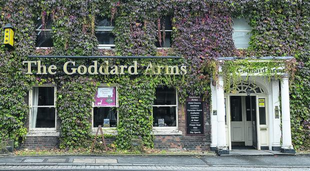 Goddard Arms will be spruced up