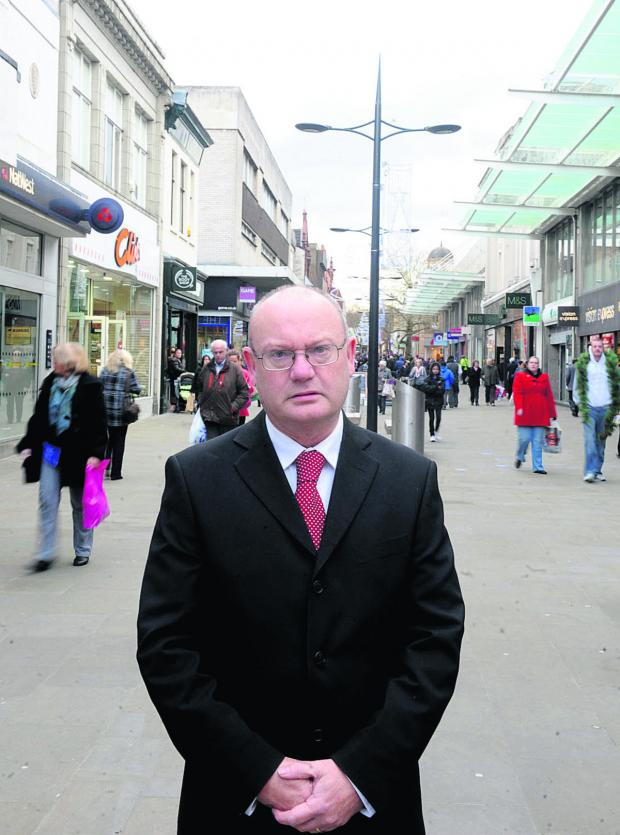 Swindon Advertiser: Labour Group Leader, Jim Grant