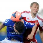 Swindon Advertiser: Jay McEveley in action