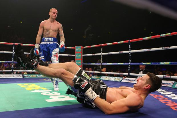 Paddy Fitzpatrick doesn't expect Carl Froch to change