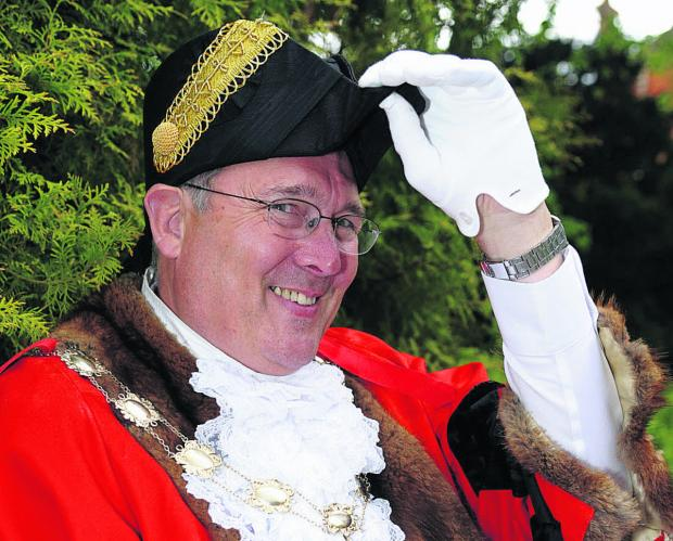 Swindon mayor Nick Martin