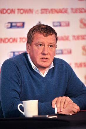 Town chairman Lee Power