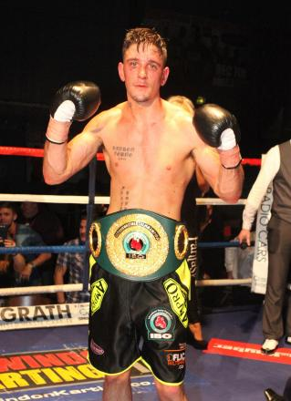 Kelvin Young is still the IBO inter-continental super-middleweight champion